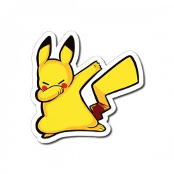 stickers dab pikachu