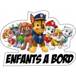 stickers pat patrouille enfant à bord