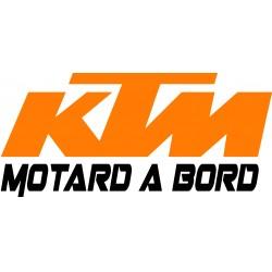 motard à bord KTM