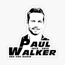 stickers paul walker