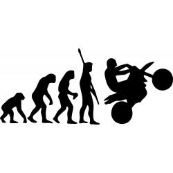 stickers evolution moto