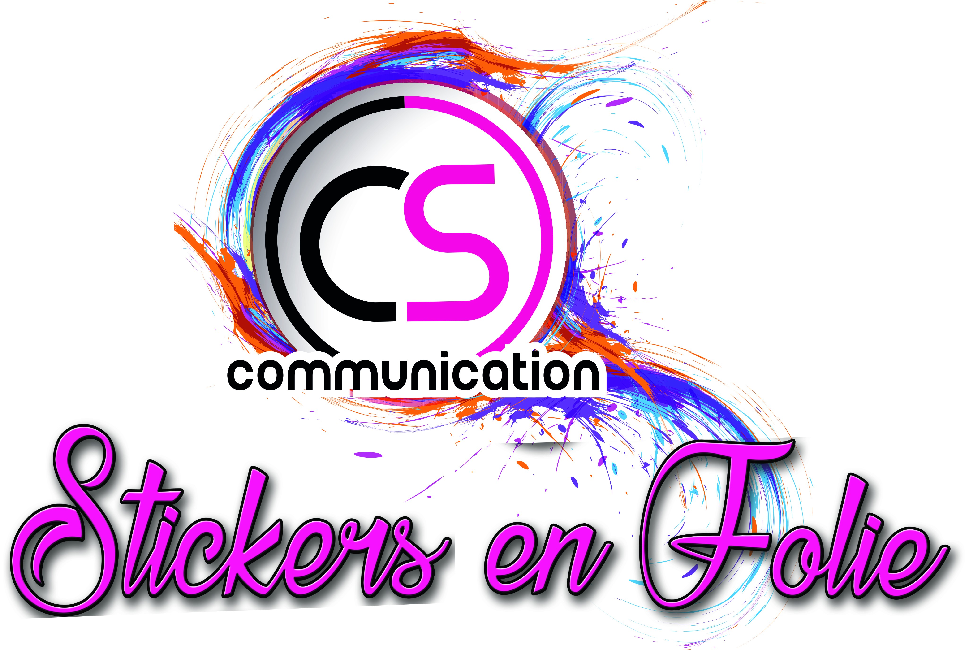 Stickers en folie  by CS Communication